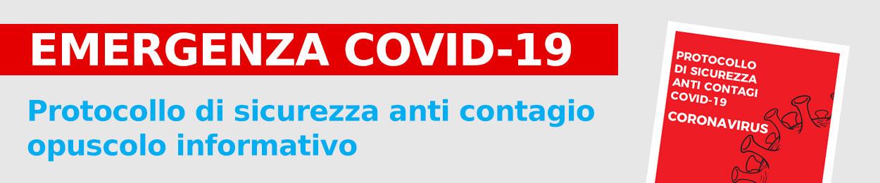 Protocolo di sicurezza anti COVID-19